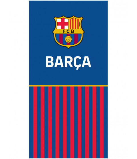 FC Barcelona Half Stripe Towel