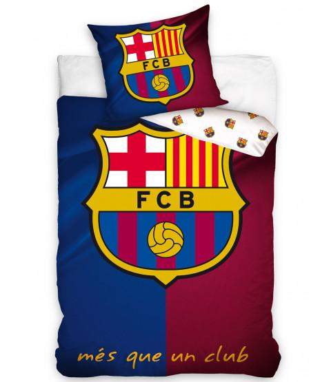 FC Barcelona Single Cotton Duvet Cover Set - UK Size
