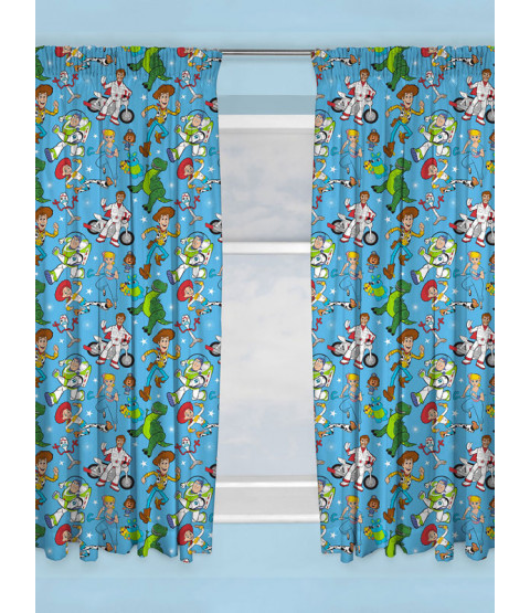 """Toy Story 4 Rescue Curtains 72"""" Drop"""