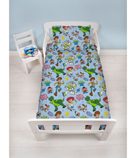 Toy Story Gang Junior Rotary Bedding Bundle