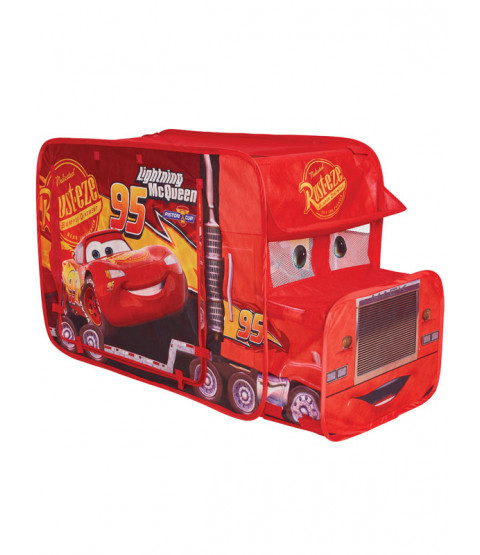 Disney Cars Pop Up Mack Truck Tourin' Trucker Play Tent