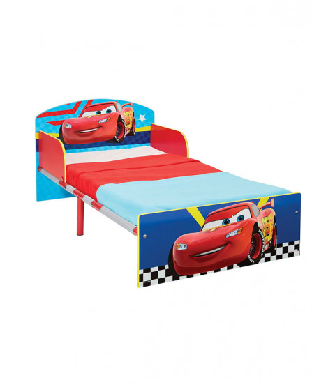 Cars Toddler Bed with Sprung Mattress