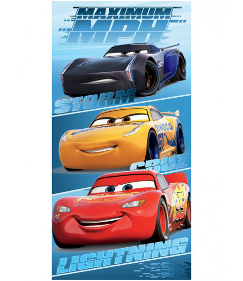 Disney Cars MPH Beach Towel