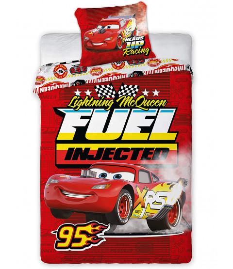 Disney Cars Fuel Injected Single Duvet Cover Set - European Size