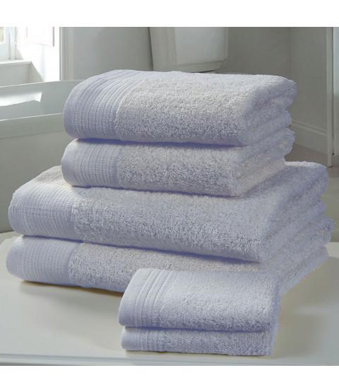 Chatsworth 4 Piece Towel Bale Blue- 2 Hand Towels, 2 Bath Towels