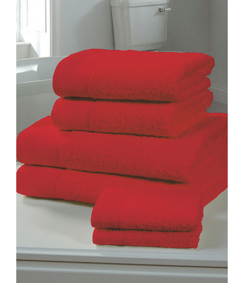 Chatsworth Towel Bale Red - 2 Bath Sheets