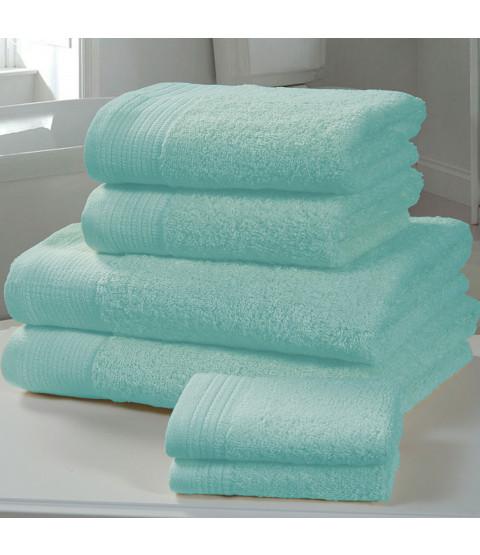 Asciugamano 4 pezzi Chatsworth Bale Turquoise - 2 asciugamani, 2 asciugamani da bagno