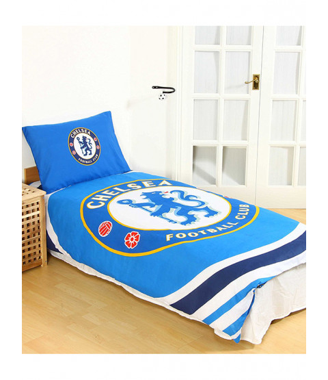 Chelsea FC Pulse Single Duvet Cover Bedding Set