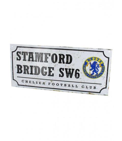 Chelsea FC Retro Street Sign
