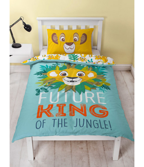 Disney Lion King Hakuna Single Panel Duvet Cover Set