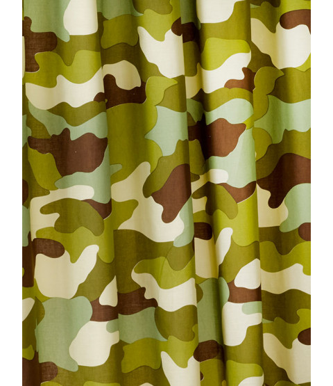 "Army Camouflage Lined Curtains 72"" Drop"