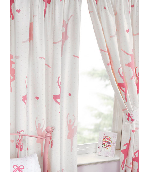 Born To Dance Lined Curtains 66in x 54in
