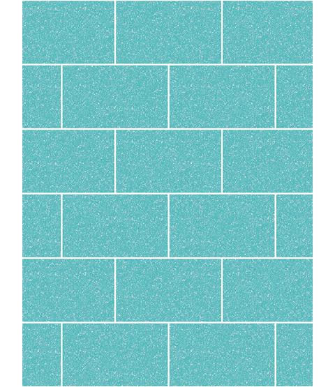 Crown London Tile Glitter Wallpaper Aqua M1122