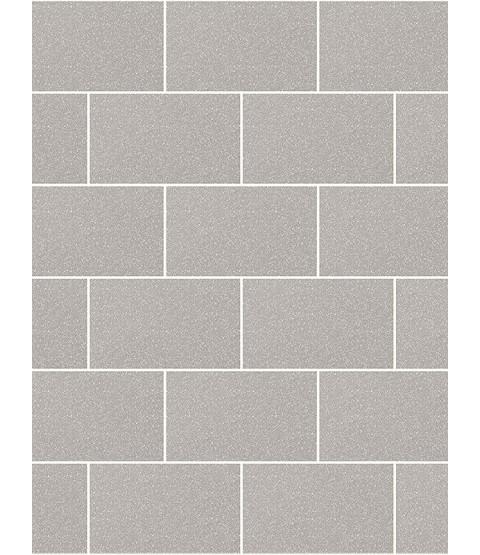 London Tile Glitter Wallpaper Grey Mist Crown M1123