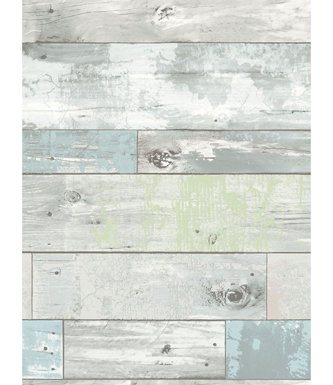 NuWallpaper Beachwood Peel And Stick Wallpaper - NU1647