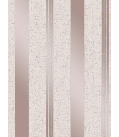 Quartz Stripe Wallpaper Rose Gold Fine Decor FD42205