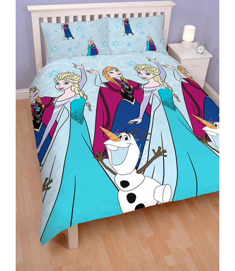 Disney Frozen Lights Double Duvet Cover Bedding Set