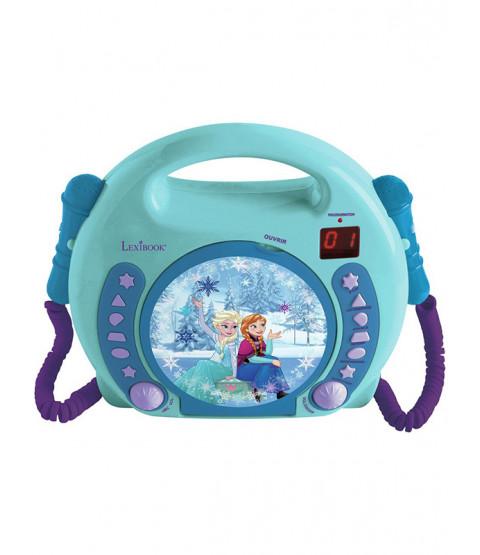 Disney Frozen Lettore CD con microfoni