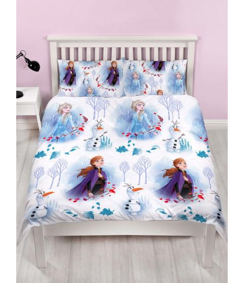 Disney Frozen 2 Element Double Duvet Cover and Pillowcase Set