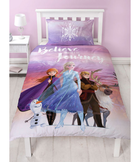Disney Frozen 2 Journey Single Duvet Cover Set