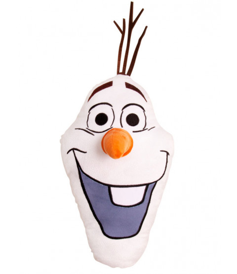 Disney Frozen 2 Olaf Shaped Cushion