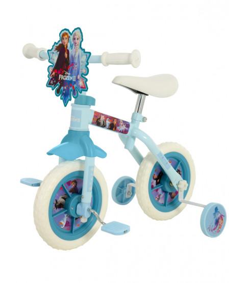 Disney Frozen 2 Ten Inch 2 in 1 Training Bike