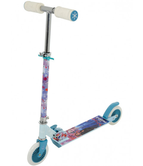 Disney Frozen 2 Folding In Line Scooter