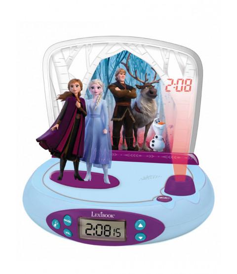 Disney Frozen 2 Radio Alarm Clock Projector