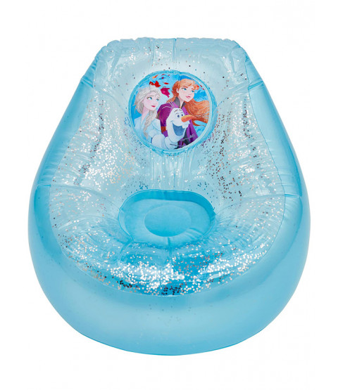 Disney Frozen Chill Chair gonfiabile con glitter