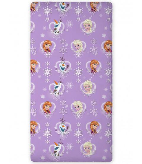 Disney Frozen Lilac Single Fitted Sheet