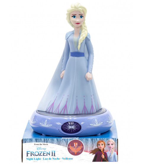 Disney Frozen Elsa 3D Figure Night Light Lamp