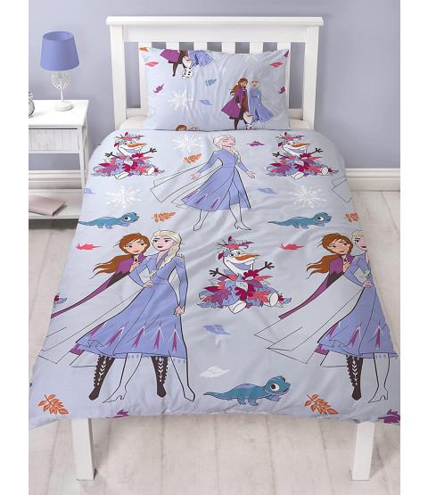 Disney Frozen 2 Cherish Single Duvet Cover and Pillowcase Set
