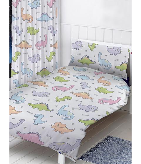 Dinosaurs 4 in 1 Junior Bedding Bundle Set
