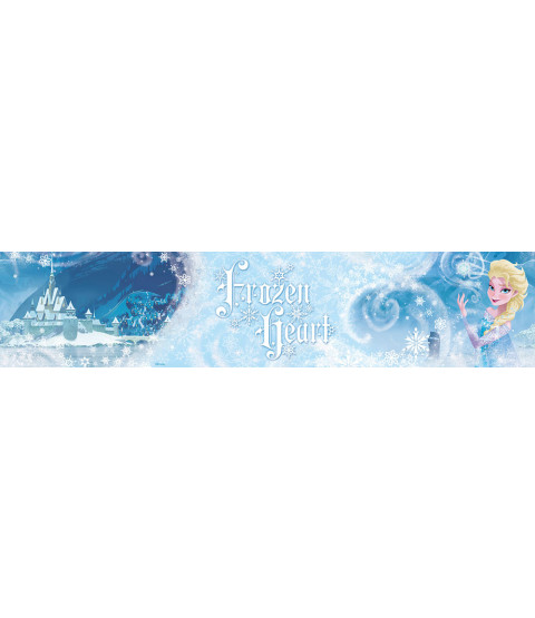 Disney Frozen Heart Elsa Wallpaper Border 5m