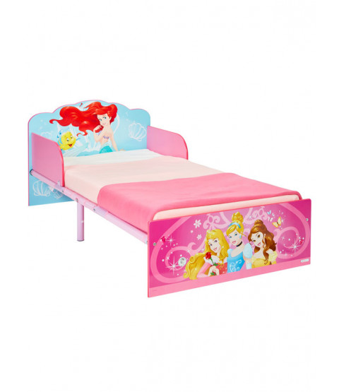Princess Toddler Bed with Mattress
