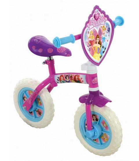 Disney Princess 2 in 1 Training and Balance Bike