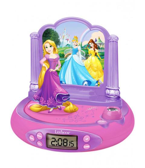 Disney Princess Radio Alarm Clock Projector