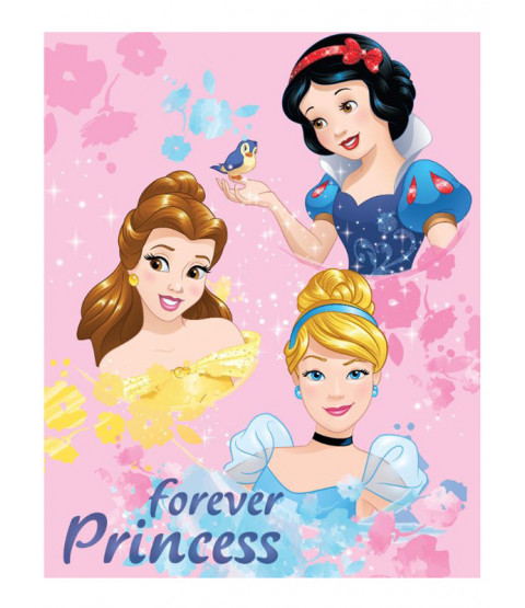 Disney Princess Forever Fleece Blanket