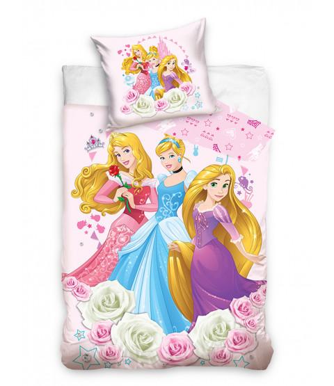 Disney Princess Reversible Single Duvet Cover and Pillowcase Set - European Size