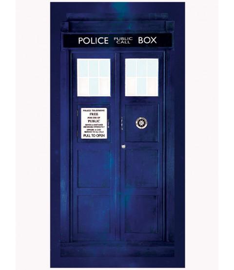 Toalla Dr Who Tardis