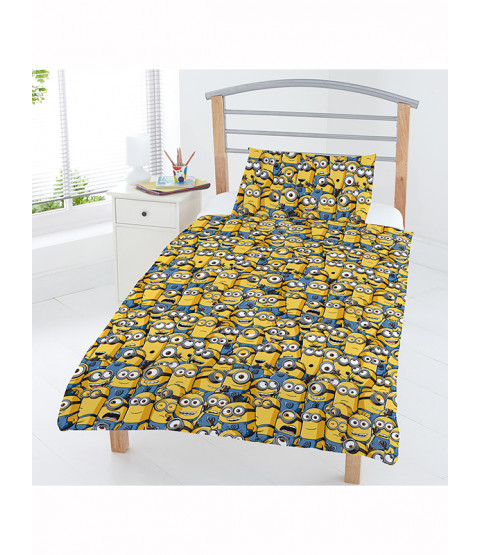 Despicable Me Minions Junior Duvet Cover and Pillowcase Set