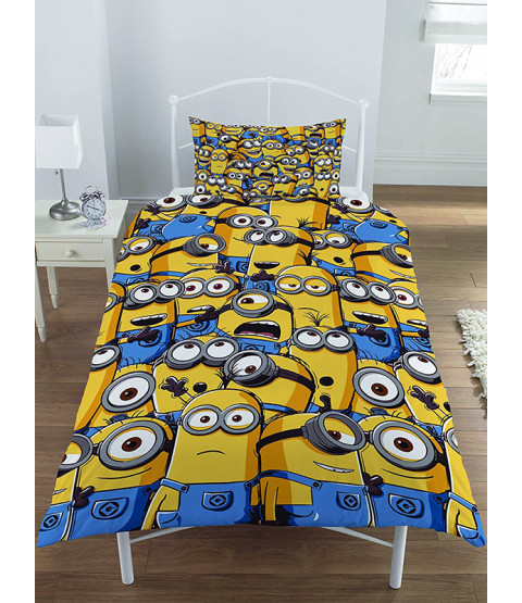 Despicable Me Minions $90.46 Bedroom Makeover Kit Duvet Cover Front