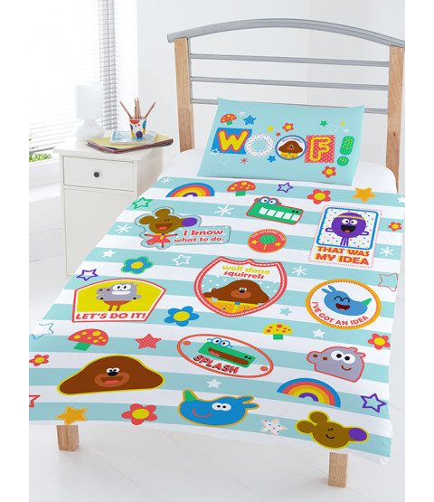 Hey Duggee Woof 4 in 1 Junior Toddler Bedding Bundle (Duvet, Pillow and Covers)