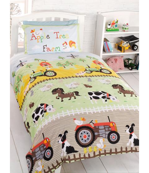 Apple Tree Farm Double Duvet Cover & Pillowcase Set