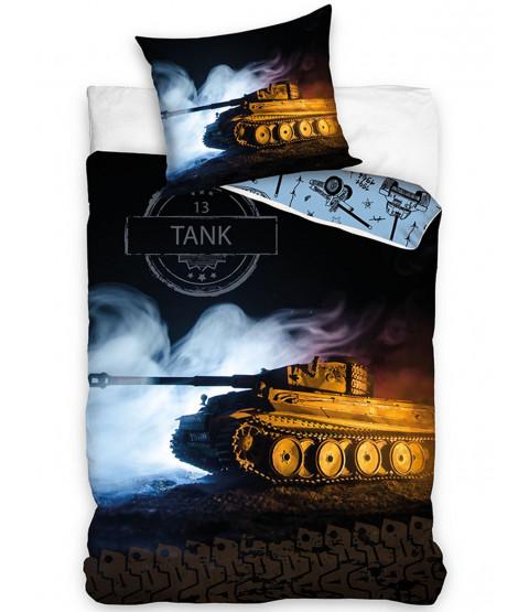 Tank Single Duvet and Pillowcase Set - European Size