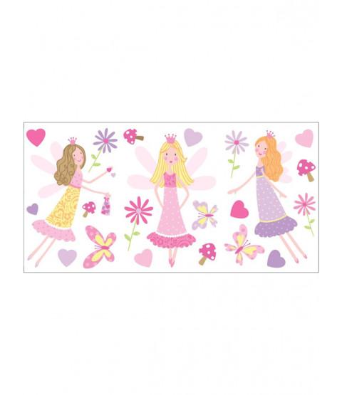 Fairy Garden Wall Stickers - 22 pieces