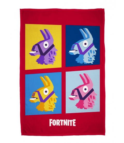 Fortnite Llamas Fleece Blanket