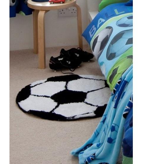 Dormitorio de la alfombra de fútbol Catherine Lansfield