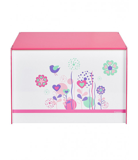 Flowers and Birds Toy Box