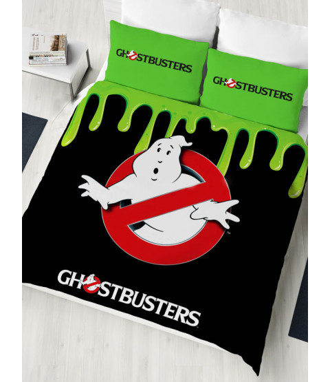 Ghostbusters Double Duvet Cover and Pillowcase Set